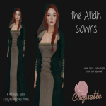 Coquette - Ailidh Gown Ads