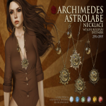 Empyrean Forge_ Archimedes Astrolabe Necklace