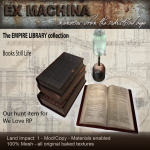 Ex Machina - Books composition - Hunt Item