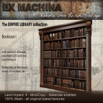 Ex Machina - Library of the Empire - Bookcase 1
