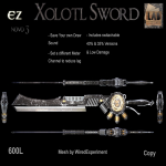 EZ Xolototl Sword Advert