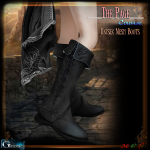 Gauze&BP-The Page- Courage Boots Display