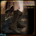 Gauze&BP-The Page- Noble Boots Display