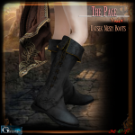 Gauze&BP-The Page- Valor Boots Display