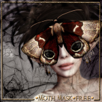 !gO! Moth mask - vendor