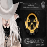 Le Morte - Gear'd Septum Ring - Ad