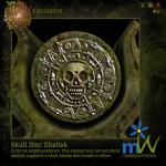 meadowWorks Skull Disc Obelisk 512