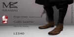 Miamai_FryeMan AnkleBoots - Coffe (Male Slink flat) key