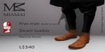 Miamai_FryeMan AnkleBoots - Desert (Male Slink flat) key