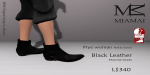 Miamai_FryeWoman AnkleBoots - Black (female Slink flat) Key