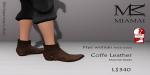 Miamai_FryeWoman AnkleBoots - Coffe (female Slink flat) Key