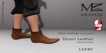 Miamai_FryeWoman AnkleBoots - Desert (female Slink flat) Key