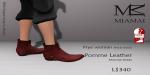 Miamai_FryeWoman AnkleBoots - Pomme (female Slink flat) Key
