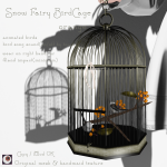 _NAMINOKE_Snow Fairy BirdCage orange Ad
