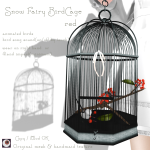 _NAMINOKE_Snow Fairy BirdCage red Ad