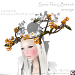 _NAMINOKE_Snow Fairy branch orange AD