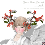_NAMINOKE_Snow Fairy branch red AD