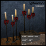 {RW} Tarkhan Holiday Candelabra - Hunt Item