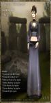 Sacred Woodland Gown Set-Wind_Promotional Art
