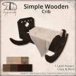 SimpleWoodenCrib[gift]