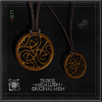 Triskel Medallion - Sweet Lies Original jpg