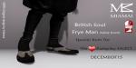WLRP HUNT #37 - FryeMan AnkleBoots (Male Slink flat)