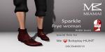 WLRP HUNT #37 - FryeWoman AnkleBoots (female Slink flat)