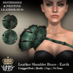 (Yummy) Leather Shoulder Brace - Earth