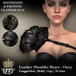 (Yummy) Leather Shoulder Brace - Onxy