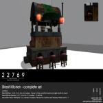 22769 ~ [bauwerk] Street Kitchen - complete set [ad]
