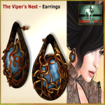 Bliensen - Viper's Nest - earrings Ad - 1400_1050