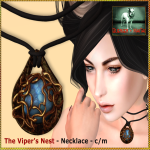 Bliensen - Viper's Nest - necklace Ad - 1400_1050