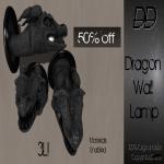 .__DD__. Dragon Wall Lamp Ad