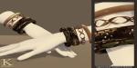 (Kunglers) Keira bracelets copper