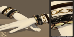(Kunglers) Keira bracelets mixed