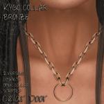 KYGO COLLAR BRONZE ADD Cellar Door