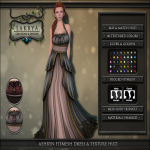 ~Lakrya -  Aehryn FitMesh Dress