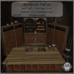 ~_S.E._~ Apothecary Full Set Pic