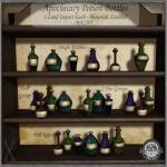 ~_S.E._~ Apothecary Potion Bottles Pic