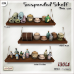 [V_W] AD susp shelf Mix Set