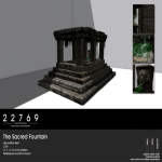 22769 ~ [bauwerk] The Sacred Fountain [ad]