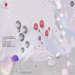 floating bubbles vendor ad ETHEREAL cubic cherry