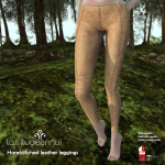 lassitude & ennui Handstitched leather leggings for We _3 RP