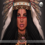 [LF]Native face paint 2 catwa