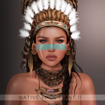 [LF]Native face paint 2 layers