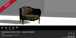 22769 ~ [bauwerk] Victorian Armchair Black ADULT [ad]