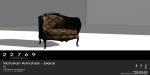 22769 ~ [bauwerk] Victorian Armchair Black PG [ad]