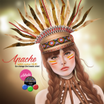Astralia - apache headdress vendor
