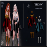 Belona Red - Blue Outfit - Sweet Lies Original jpg