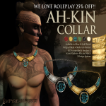 Empyrean Forge_ Ah-Kin Collar Gold - WLRP April